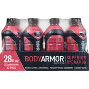 BODYARMOR Sports Drink, Strawberry Banana, 12 Pack