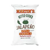 Martin's Kettle-Cook'D Jalapeno Flavored Potato Chips