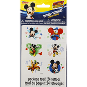 Unique Tattoos, Mickey and the Roadster Racers, 4 Sheets