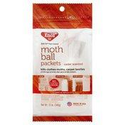 Enoz Moth Ball Packets, Cedar Scented