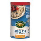 Nature's Path Quick Cook Steel Cut Oats