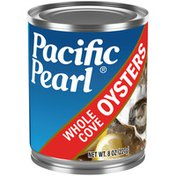 Pacific Pearl Whole Oysters