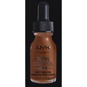 NYX Professional Makeup Drop Foundation, Deep Sable TCPDF18