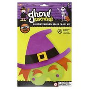 Ghoul Essentials Foam Mask Craft Kit, Halloween, Witch Mask