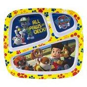 Zak! 3-Section Kids Tray Paw Patrol