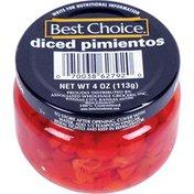 Best Choice Diced Pimentos