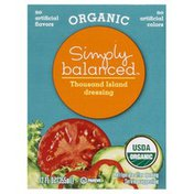 Simply Balanced Dressing, Organic, Thousand Island