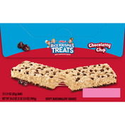 Kellogg's Crispy Marshmallow Squares, Chocolatey Chip, 12 Pack