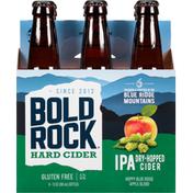 Bold Rock Hard Cider, IPA, Dry Hopped