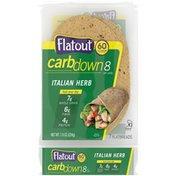 Flatout CarbDown Italian Herb Flatbreads