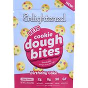 Enlightened Cookie Dough Bites, Keto, Birthday Cake