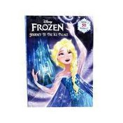 Disney Frozen Journey to the Ice Palace Deluxe Paperback Coloring & Activity Book