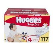 Huggies SNUG & DRY Diapers Step 4 Hi-Count JR 117