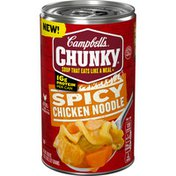 Campbell's® Chunky® Spicy Chicken Noodle Soup