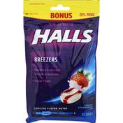 Halls Oral Demulcent, Creamy Strawberry Flavor