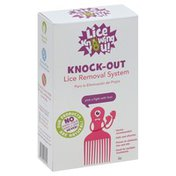 Lice Knowing You Lice Removal System, Knock-Out