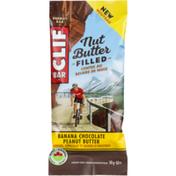 CLIF BAR Banana Chocolate Peanut Butter Nut Butter Filled Energy Bar