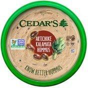 Cedar's Foods Artichoke Kalamata Hommus