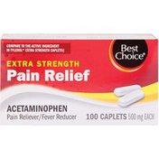 Best Choice Non-Aspirin Extra Strength Caplets