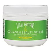 Vital Proteins Collagen Beauty Greens Natural Whole Nutrition Dietary Supplement, Vanilla Coconut