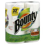 Bounty Basic Paper Towels, 2-Ply, Garden Prints