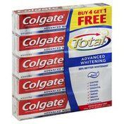 Colgate Toothpaste, Anticavity Fluoride and Antigingivitis, Advanced Whitening, Paste