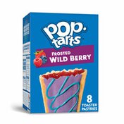 Kellogg's Pop-Tarts Toaster Pastries, Breakfast Foods, Frosted Wild Berry