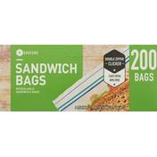 Southeastern Grocers Sandwich Bags, Double Zipper
