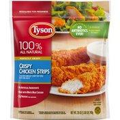 Tyson Fully Cooked Crispy Chicken Strips, (Frozen)