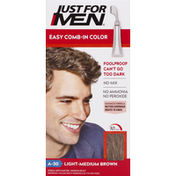 Just For Men Easy Comb-In Color, Light-Medium Brown A-30