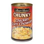 Best Choice Chunky Chicken Corn Chowder Soup