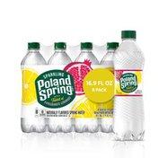 Poland spring Sparkling Water, Pomegranate Lemonade