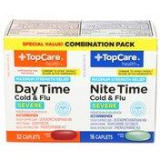 TopCare Cold/Flu Day/Night Pe Caplets