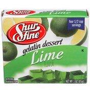 Shurfine Lime Gelatin Dessert