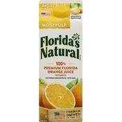 Florida's Natural Orange Juice, Most Pulp