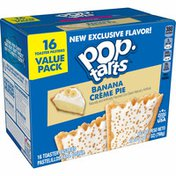 Kellogg's Pop-Tarts Toaster Pastries, Breakfast Foods, Frosted Banana Creme Pie