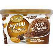 Kemps Frozen Yogurt, Chocolate Peanut Butter