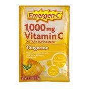 Emergen-C Vitamin C Dietary Supplement Tangerine Fizzy Drink Mix Packet