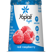 Yoplait Yogurt, Fat Free, Red Raspberry