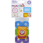 Munchkin Bag Refills, with Baking Soda, Disposable, Lavender Scent