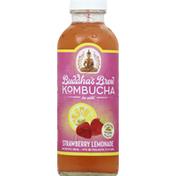 Buddha's Brew Kombucha, Strawberry Lemonade