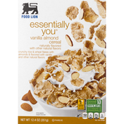 Food Lion Cereal, Vanilla Almond, Essentially You