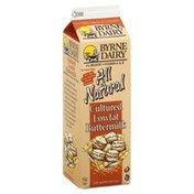 Byrne Dairy Buttermilk, Cultured, Lowfat, 1% Milkfat