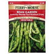 Ferry Morse Seeds, Bean Garden, Kentucky Wonder Rust Resistant (Pole)