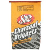 Shurfine Charcoal Briquets With Mesquite