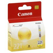 Canon Ink Tank, Yellow 221 Y