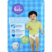 Basics For Kids Training Pants, Boys, Size 2T-3T (Up to 34 lb)