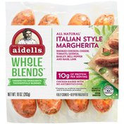 Aidells Sausage, Italian Style Margherita, Whole Blends, Sleeve