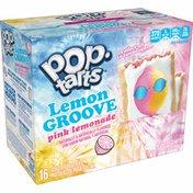 Kellogg's Pop-Tarts Toaster Pastries, Lemon Groove Breakfast Foods, Frosted Pink Lemonade