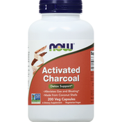 Now Activated Charcoal, Veg Capsules